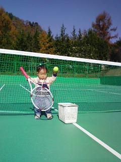 テニスに目覚めたか